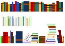 Reeks boeken stock illustratie