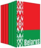 Reeks boeken over Wit-Rusland Royalty-vrije Stock Foto