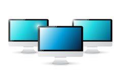 Reeks computers. illustratieontwerp vector illustratie