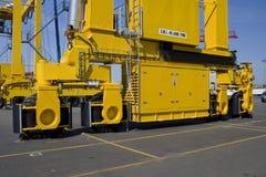 Reeks containerkranen   Royalty-vrije Stock Foto