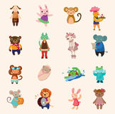 Reeks dierlijke pictogrammen Royalty-vrije Stock Fotografie
