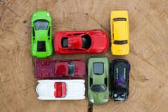 Reeks divers auto'sspeelgoed, Stock Fotografie
