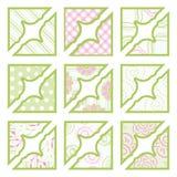 Reeks elementen voor ontwerp. Royalty-vrije Stock Foto