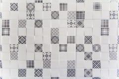 Reeks elementen voor ontwerp tegels stock afbeelding
