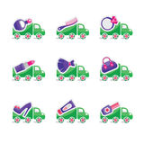Reeks emblemen voor tandkliniek Royalty-vrije Stock Afbeelding
