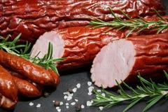 Reeks fijne vleeswaren Royalty-vrije Stock Afbeelding