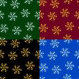 Reeks fractals en elementen van omwenteling Royalty-vrije Stock Foto
