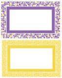 Reeks frames Stock Afbeeldingen