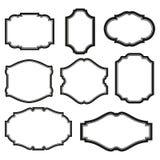 Reeks frames vector illustratie
