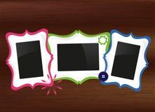 Reeks frames stock illustratie