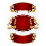 Reeks frames Royalty-vrije Stock Foto