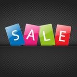 Reeks gekleurde markeringen voor verkoop Royalty-vrije Stock Fotografie