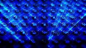 Reeks genetische pictogrammen De achtergrond van het biotechnologieonderzoek Diverse inzameling van pictogrammen voor zaken CG-Li royalty-vrije illustratie