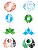 Reeks grafische elementen Stock Afbeelding