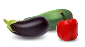 Reeks groenten. Royalty-vrije Illustratie