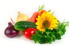 Reeks groenten Royalty-vrije Stock Afbeeldingen