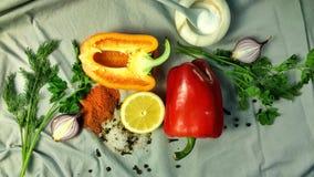 Reeks groenten Royalty-vrije Stock Foto's