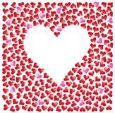 Reeks harten Stock Afbeeldingen