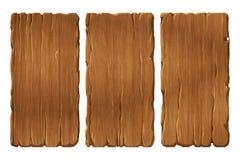 Reeks houten panelen Royalty-vrije Stock Fotografie