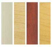 Reeks houten textuursteekproeven Royalty-vrije Stock Afbeelding