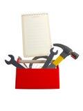 Reeks hulpmiddelen en instrumenten Royalty-vrije Stock Afbeeldingen