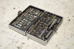 Reeks hulpmiddelen voor reparatie Royalty-vrije Stock Fotografie