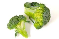 Reeks II van broccoli stock afbeelding