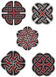 Reeks Keltische ontwerpelementen Royalty-vrije Stock Foto's