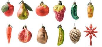 Reeks Kerstmisspeelgoed Stock Foto's