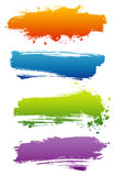 Reeks kleurenbanners Royalty-vrije Stock Afbeeldingen