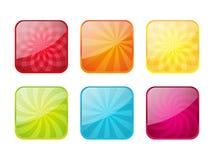 Reeks kleurenpictogrammen vector illustratie