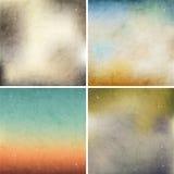 Reeks kleurrijke achtergronden. Stock Fotografie
