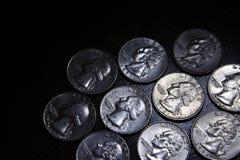 Reeks Kwarten van de V.S. Royalty-vrije Stock Afbeeldingen