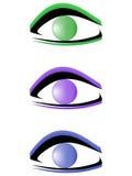 Reeks logotypes Stock Afbeelding