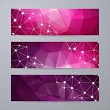 Reeks malplaatjes voor banners Royalty-vrije Stock Afbeelding