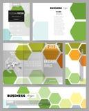 Reeks malplaatjes voor presentatie, brochure, vlieger of boekje Abstracte kleurrijke bedrijfsachtergrond, moderne modieus vector illustratie