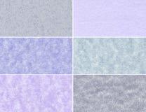 Reeks marmeren texturen stock afbeeldingen