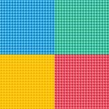 Reeks met pixelpatroon vector illustratie