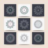 Reeks minimale geometrische vormen Royalty-vrije Stock Afbeeldingen