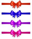 Reeks multicolored bogen Royalty-vrije Stock Foto