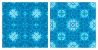 Reeks naadloze texturen Stock Fotografie