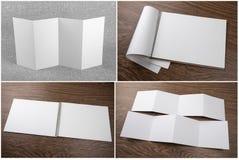 Reeks notitieboekjes en boekjes stock afbeeldingen