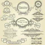 Reeks ontwerpelementen Royalty-vrije Stock Afbeelding