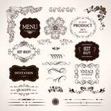 Reeks ontwerpelementen Royalty-vrije Stock Afbeeldingen