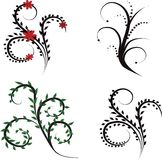 Reeks ontwerpelementen Royalty-vrije Illustratie