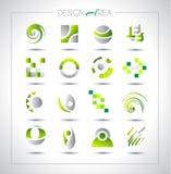 Reeks ontwerpelementen voor uw project Royalty-vrije Stock Afbeeldingen