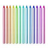 Reeks pennen Royalty-vrije Stock Afbeelding