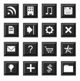 Reeks pictogrammen Royalty-vrije Stock Afbeeldingen