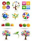 Reeks pictogrammen Stock Afbeeldingen