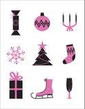 Reeks pictogrammen Royalty-vrije Illustratie
